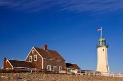 Scituate Leuchtturm Stockbilder