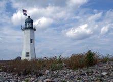 Scituate-Leuchtturm, Scituate MA USA Lizenzfreies Stockfoto