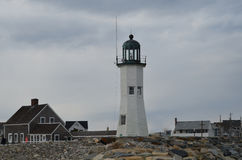 Scituate Light Stock Photography