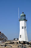 Scituate Light, Scituate Harbor, Massachusetts Stock Photos