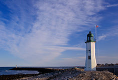 Scituate Lighthouse Royalty Free Stock Image