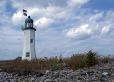 Scituate Lighthouse, Scituate MA USA Royalty Free Stock Photo