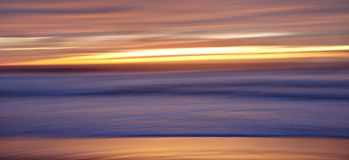 Scivolamento del tramonto II Immagini Stock