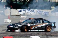 Scivolamento dell'automobile Fotografia Stock Libera da Diritti