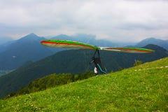 Scivolare di caduta in Monte Cucco Fotografia Stock Libera da Diritti