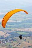 Scivolare di caduta in Monte Cucco Fotografie Stock