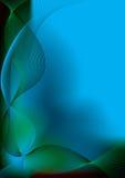 Scivolata blu fredda Immagine Stock Libera da Diritti