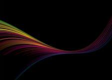 Scivolata del Rainbow Fotografie Stock Libere da Diritti