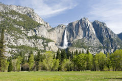 Scivolo della valle del Yosemite Immagini Stock