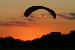 Scivolo di tramonto Fotografia Stock Libera da Diritti