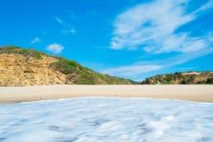 Scivu beach Stock Images
