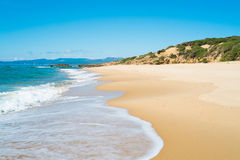 Scivu beach Royalty Free Stock Images