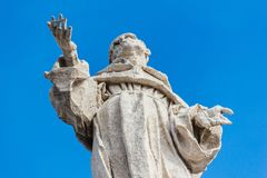 Sclupture σε Βατικανό Στοκ φωτογραφία με δικαίωμα ελεύθερης χρήσης