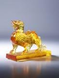 Sclupture de um chinês imagem de stock