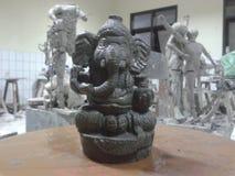 Sclupture of ganesha. Sproritual religion of hindu hudha Royalty Free Stock Photos