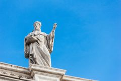 Sclupture at Vatican. Royalty Free Stock Photo