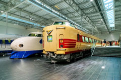 SCMaglev和铁路公园在名古屋,日本 免版税图库摄影