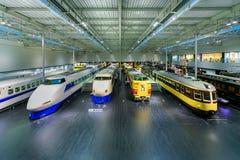 SCMaglev和铁路公园在名古屋,日本 免版税库存图片