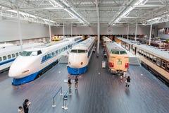 SCMaglev и железнодорожный парк Стоковая Фотография