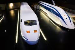 SCMaglev и железнодорожный парк Стоковые Изображения RF