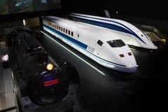 SCMaglev och järnvägen parkerar i Japan royaltyfri bild