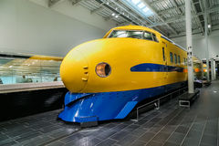 SCMaglev y parque ferroviario en Nagoya, Japón fotos de archivo libres de regalías