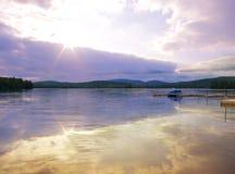 Scène d'Adirondack Photo libre de droits
