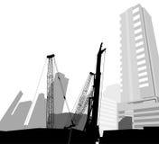 Scène de construction Image stock