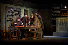 Scène de pièce l'estropié d'Inishmaan Image stock