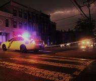 Scène du crime Images stock