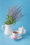 Scène fraîche de petit déjeuner Photo stock