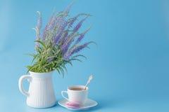 Scène fraîche de petit déjeuner Photographie stock libre de droits