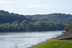 Scnic view, Ohio river stock photo