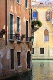 Scénique urbain de Venise Photos libres de droits