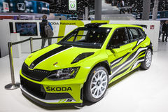 Scoda Fabia RS Combi at the IAA 2015 Royalty Free Stock Images