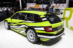 Scoda Fabia RS Combi at the IAA 2015 Stock Photos