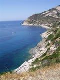 Scogliera all'isola d'Elba Royalty Free Stock Photography