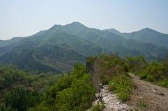 Scogliera alla montagna Immagine Stock