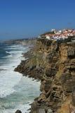 Scogliera atlantica portoghese Fotografia Stock