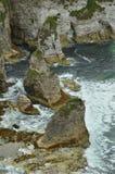 Scogliera atlantica selvaggia Fotografie Stock