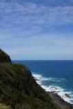 Scogliera dell'oceano Fotografia Stock Libera da Diritti