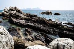Scogliera della riva a Shenzhen Fotografie Stock Libere da Diritti