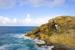 Scogliera della roccia Fotografie Stock Libere da Diritti