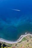 Scogliera di Cabo Girao Immagine Stock Libera da Diritti