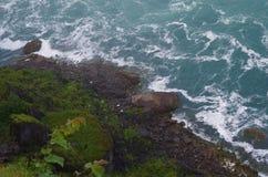 Scogliera di cascate del Niagara Fotografie Stock Libere da Diritti