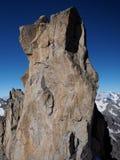 Scogliera di formazioni rocciose Fotografie Stock