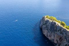Scogliera di Mallorcan Fotografie Stock