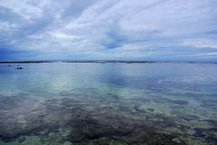 Scogliera di Utuko, Niue Immagine Stock