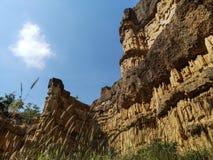 Scogliera impressionante di Pha Chor Grand Canyon in Chiang Mai fotografia stock