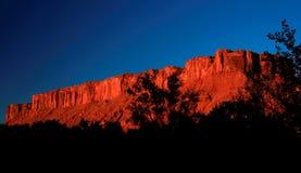 Scogliera a Moab fotografia stock libera da diritti